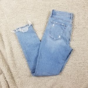 Lucky Brand Distressed Brooke Legging Jean Size 8
